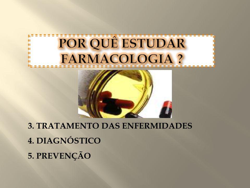 3. TRATAMENTO DAS ENFERMIDADES 4. DIAGNÓSTICO 5. PREVENÇÃO