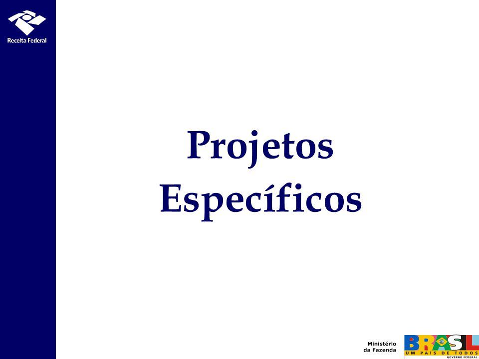 Projetos Específicos