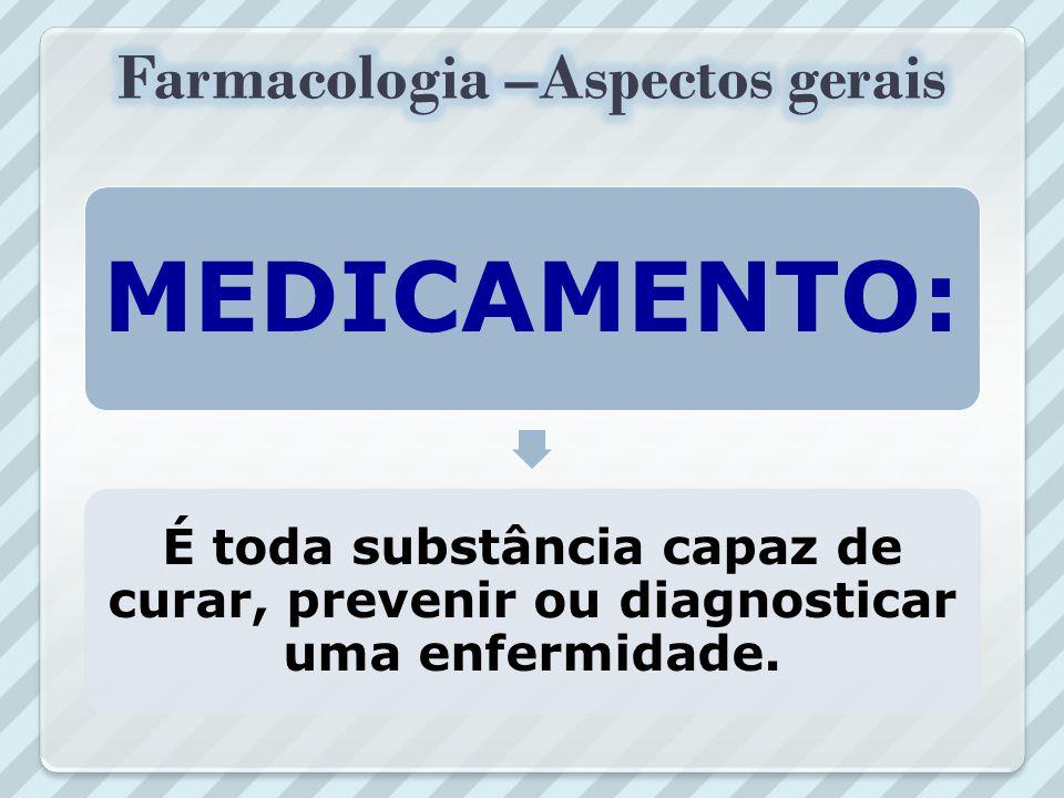 REMÉDIO: É toda substância ou medida utilizada para curar uma determinada enfermidade.