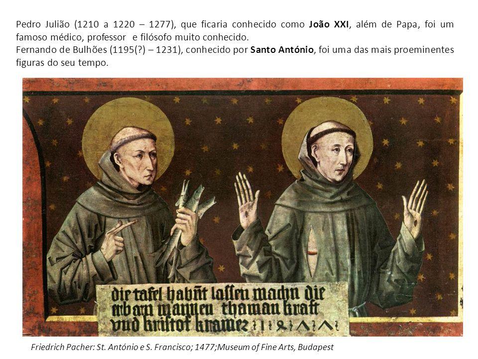 Pedro Julião (1210 a 1220 – 1277), que ficaria conhecido como João XXI, além de Papa, foi um famoso médico, professor e filósofo muito conhecido. Fern