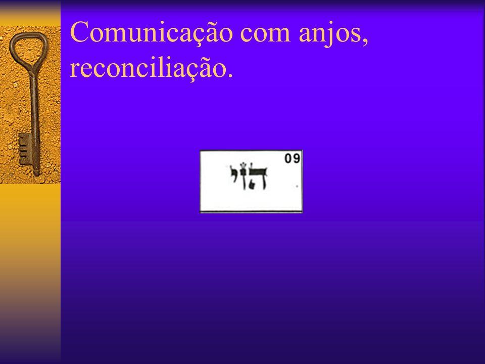 Comunicação com anjos, reconciliação.