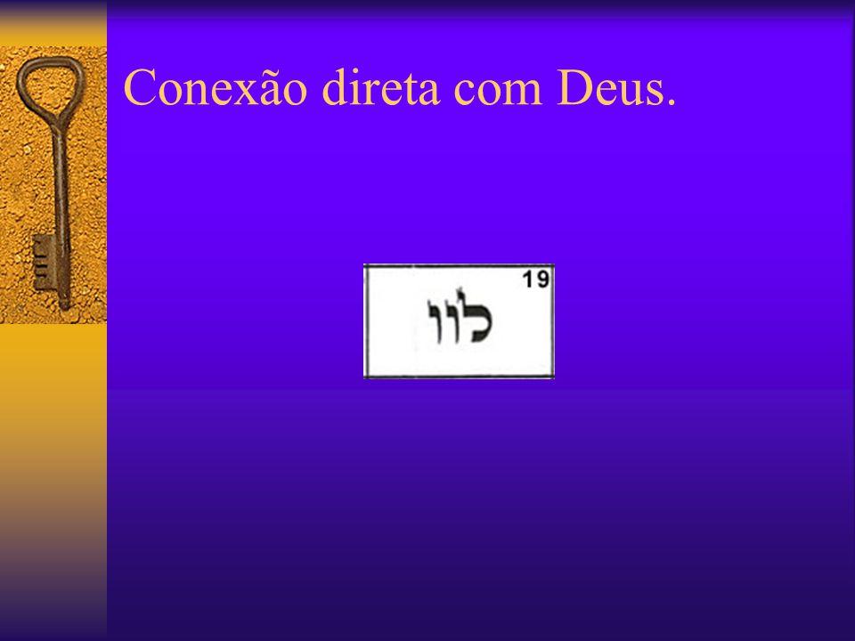 Conexão direta com Deus.
