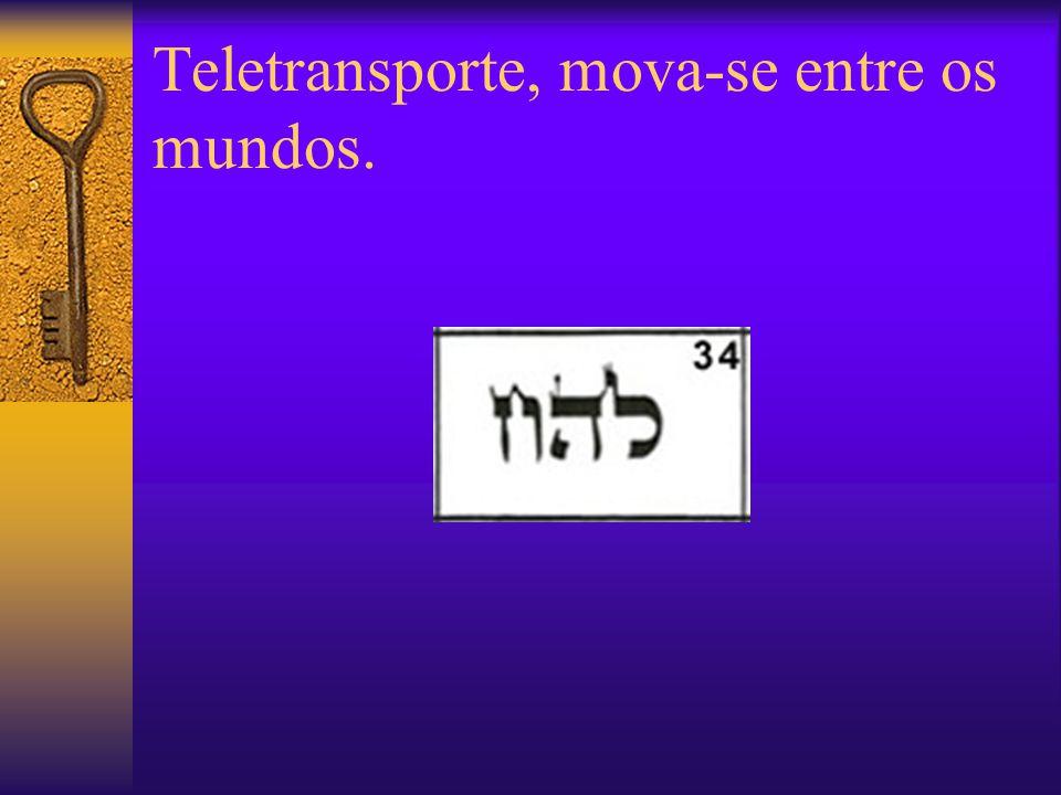 Teletransporte, mova-se entre os mundos.