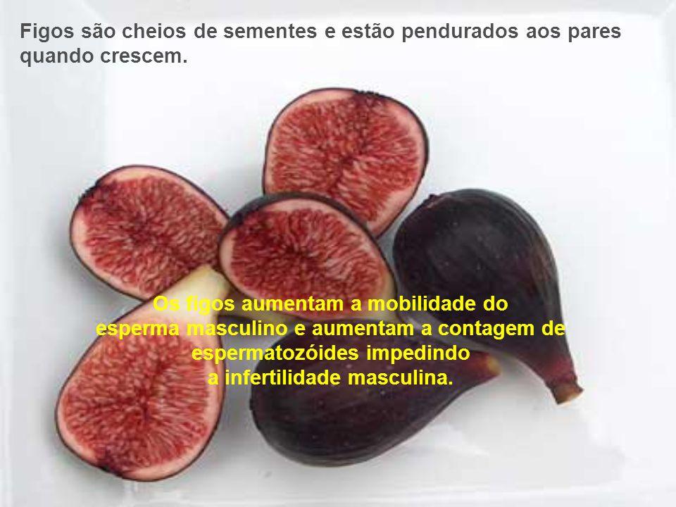 Abacate, beringela e peras ajudam à saúde e funcionamento do útero e colo do útero de mulheres - elas têm a mesma aparência destes órgãos. A pesquisa