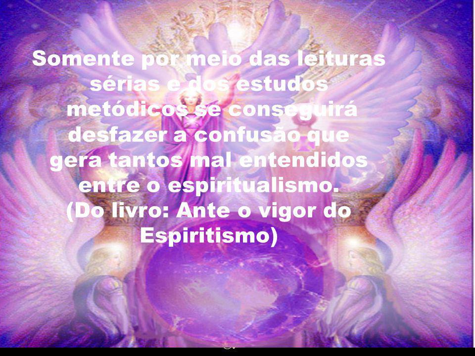 Ainda que o Espiritismo e, por sua vez, os espíritas, não tenham nada contra as práticas e crenças africanistas, é importante que cada coisa esteja no