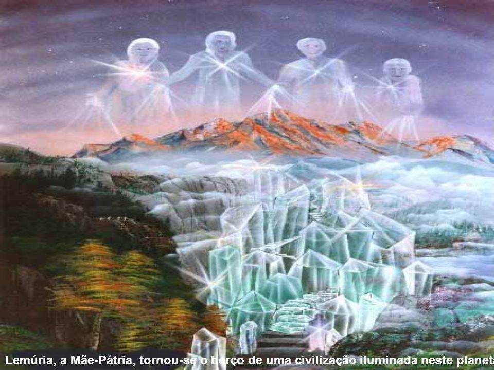 As Almas novas encarnadas neste planeta vieram originalmente da Terra de MU, no Universo de Dahl.