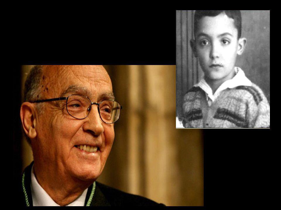Quando me for deste mundo, partirão duas pessoas. José Saramago Sairei, de mão dada, com essa criança que fui.