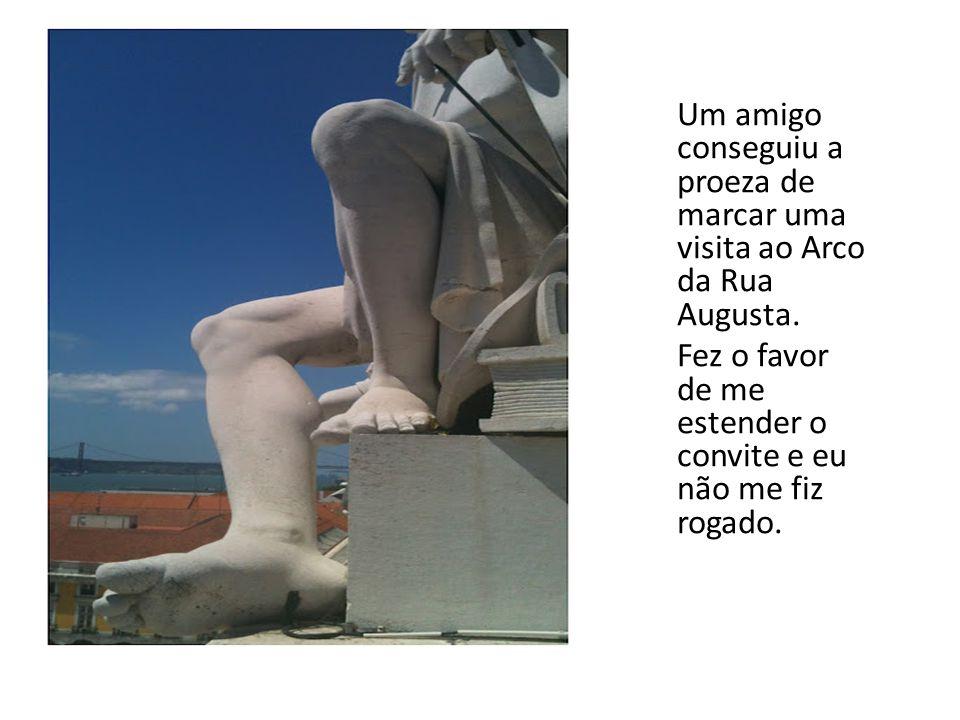 A melhor varanda de Lisboa no Arco da Rua Augusta Clique