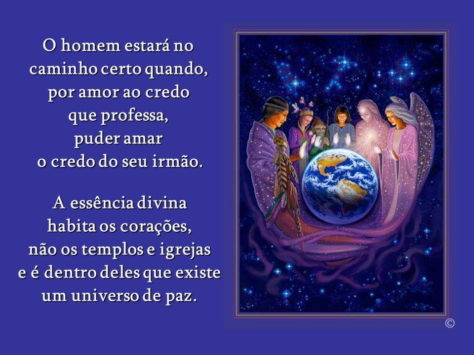 O caminhar humano é direcionado pela luz e para a luz. O homem também temnecessidade de manifestar a Luz tanto quanto a Lua. Para isso ele precisa des