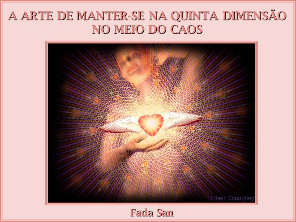 A ARTE DE MANTER-SE NA QUINTA DIMENSÃO NO MEIO DO CAOS Fada San