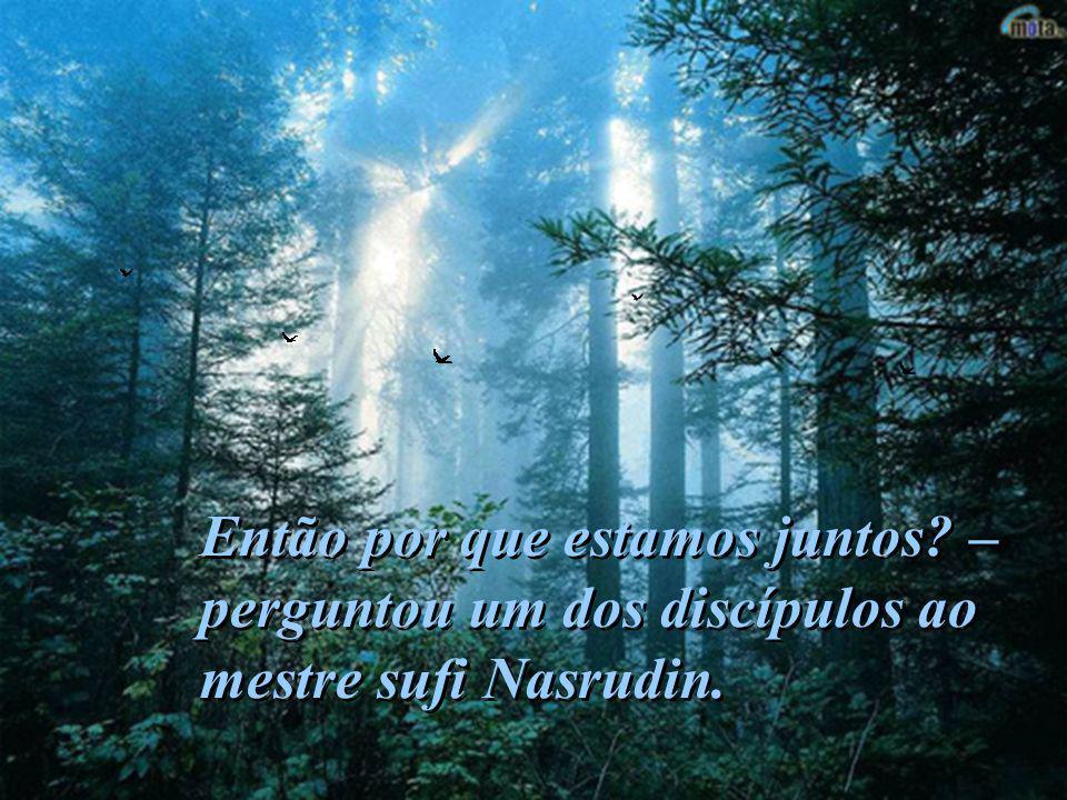 Todos os mestres dizem que o tesouro espiritual é uma descoberta solitária. Todos os mestres dizem que o tesouro espiritual é uma descoberta solitária