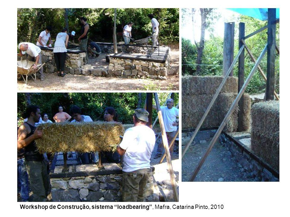Workshop de Construção, sistema loadbearing, Mafra, Catarina Pinto, 2010
