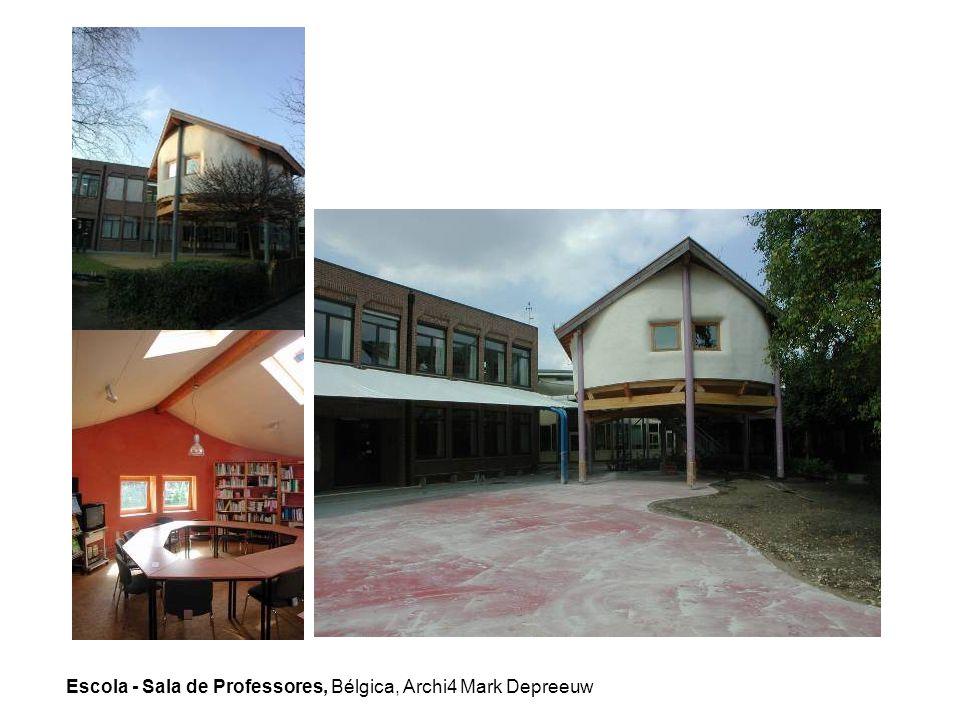 Escola - Sala de Professores, Bélgica, Archi4 Mark Depreeuw