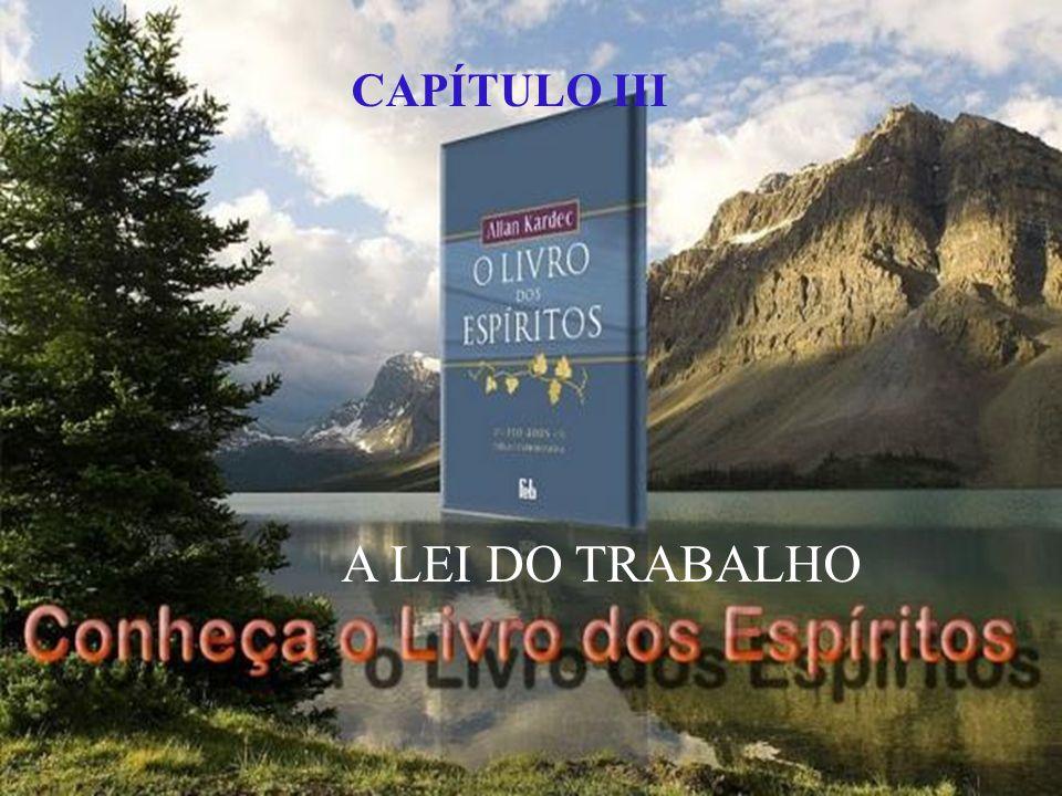 CAPÍTULO III A LEI DO TRABALHO