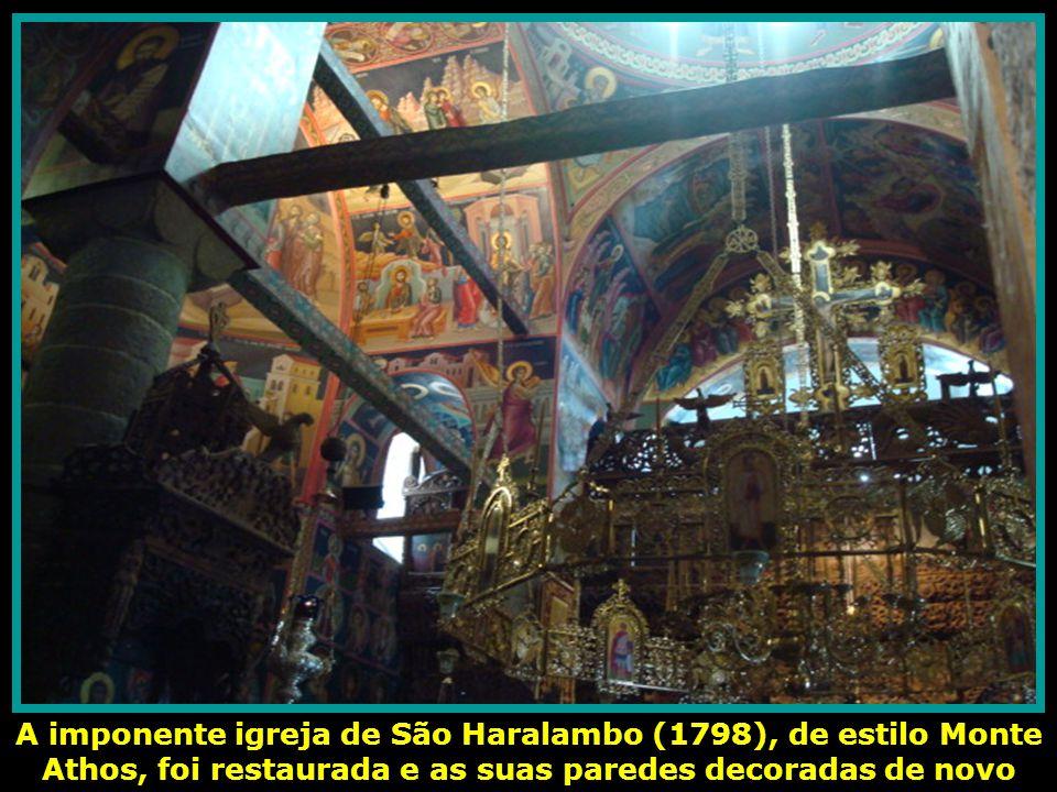 Em 1545 foram construídas algumas celas e outros pequenos recintos. Agora é a vez da reconstrução do pequeno templo de Santo Estevão, de nave única e