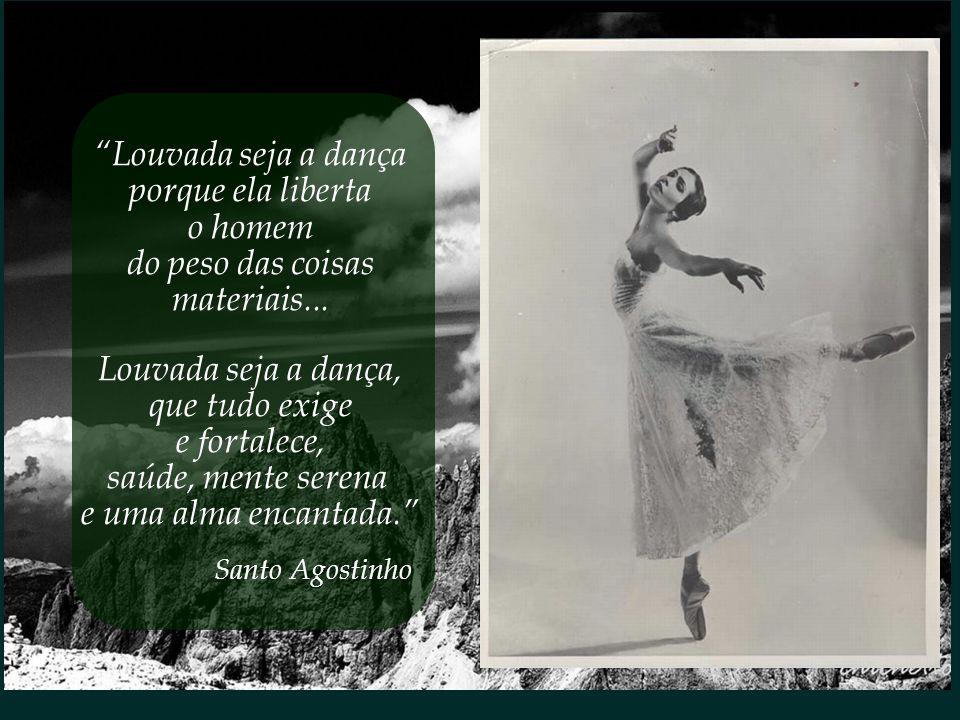A dança, dizem alguns, é a forma mais elevada de arte. O mágico instante em que corpo, mente e alma encontram-se em sutil sintonia.