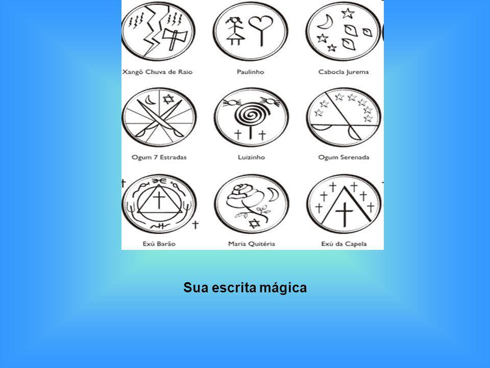 Sua escrita mágica