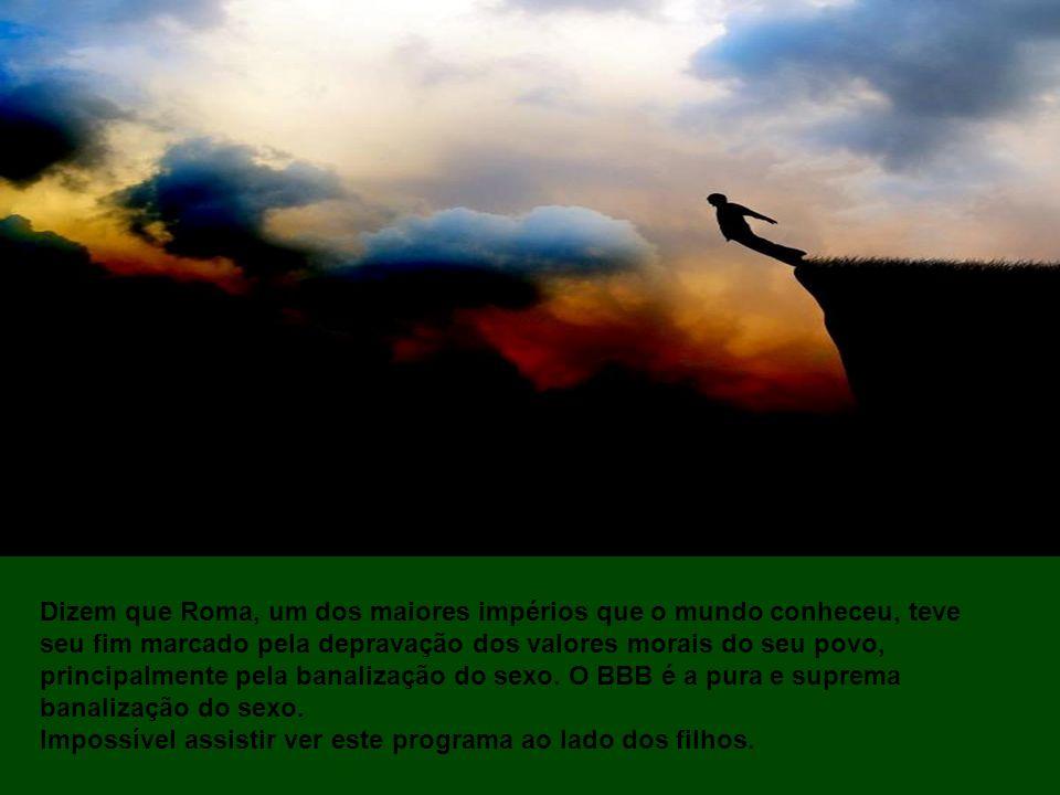 Que me perdoem os ávidos telespectadores do Big Brother Brasil (BBB), produzido e organizado pela nossa distinta Rede Globo, mas conseguimos chegar ao