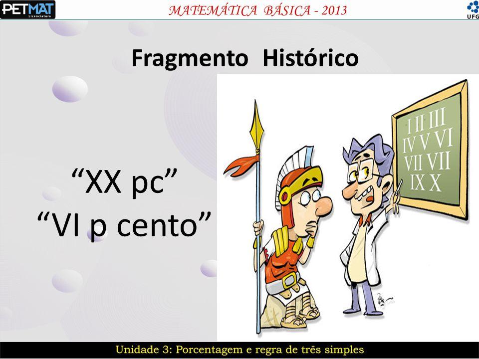 Fragmento Histórico XX pc VI p cento