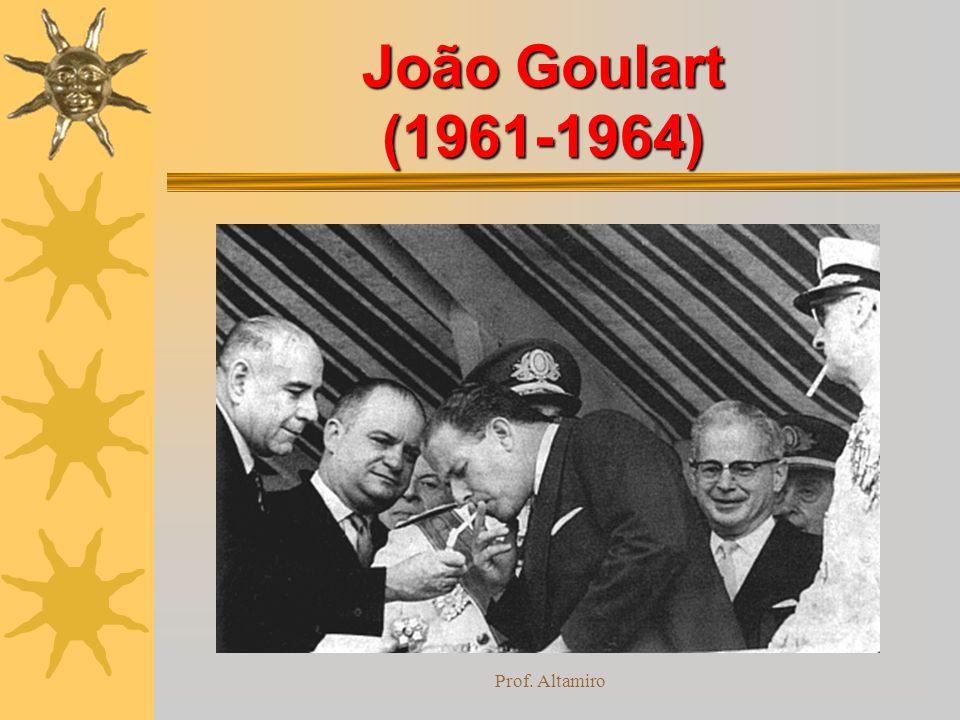 Prof. Altamiro João Goulart (1961-1964)
