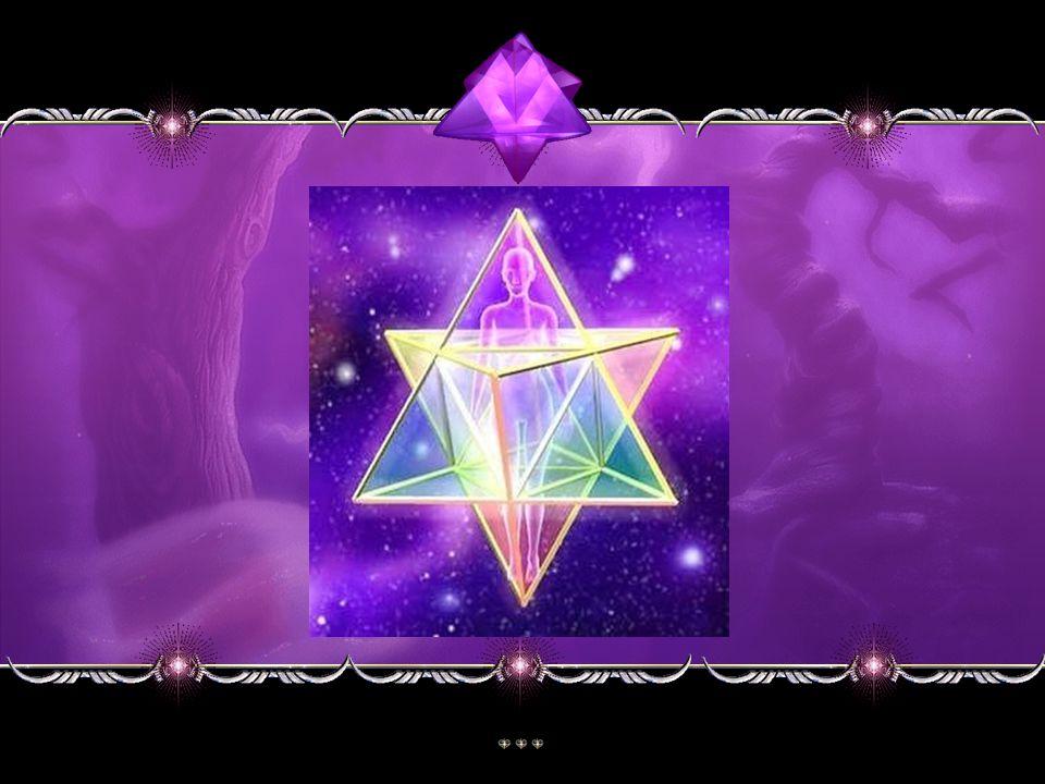 OCTAEDRO OU HOLOGRAMA DO EQUILÍBRIO OCTAEDRO é uma figura geométrica formada pela união de duas pirâmides quadrangulares ou tetraedros, opostas pela b