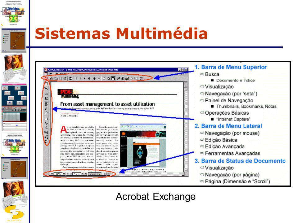 DSC/CEEI/UFCG Acrobat Exchange Sistemas Multimédia