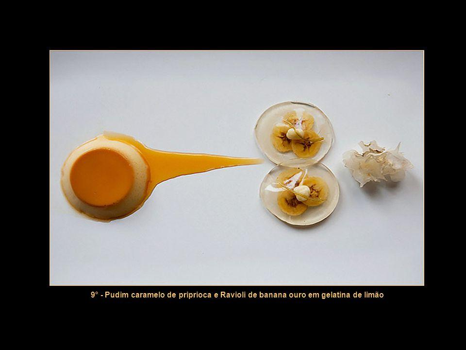 8° - Transição para a sobremesa: o tradicional Aligot (purê de batatas com muito queijo)