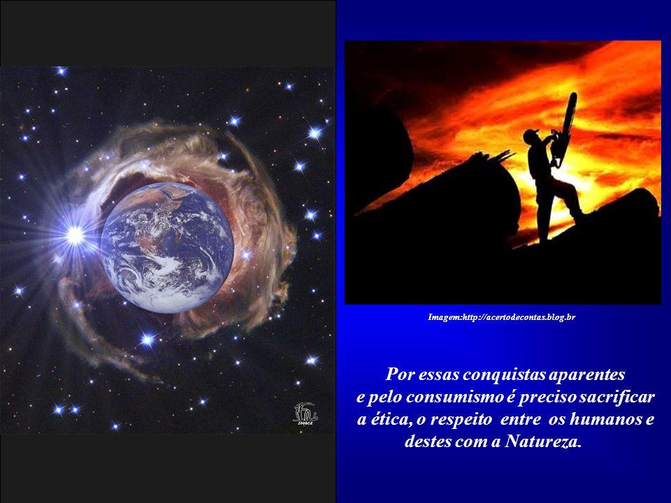 Sim, nossos deuses são outros. Eles nos fascinaram pela promessa de bem estar, de mais tempo livre, de poder e de prestígio social. No entanto, nos co