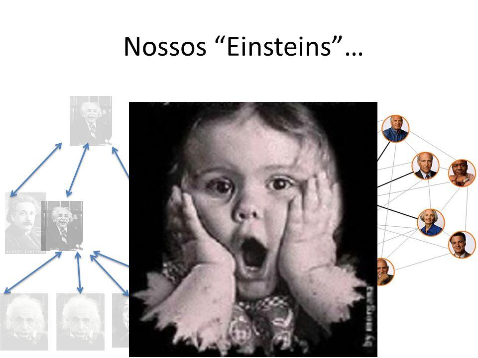 Nossos Einsteins…