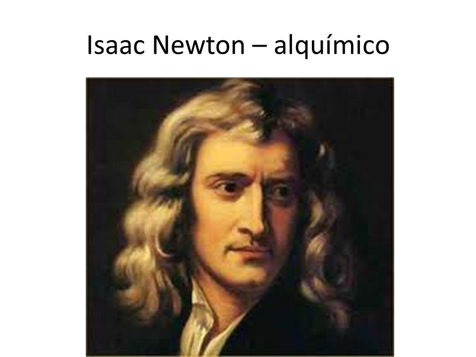 Isaac Newton – alquímico