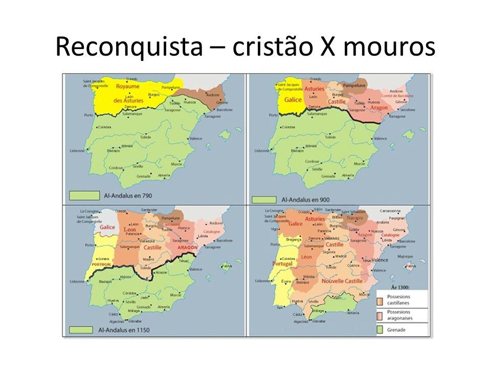 Reconquista As origens do Estado português estão intimamente ligadas à Guerra de Reconquista.