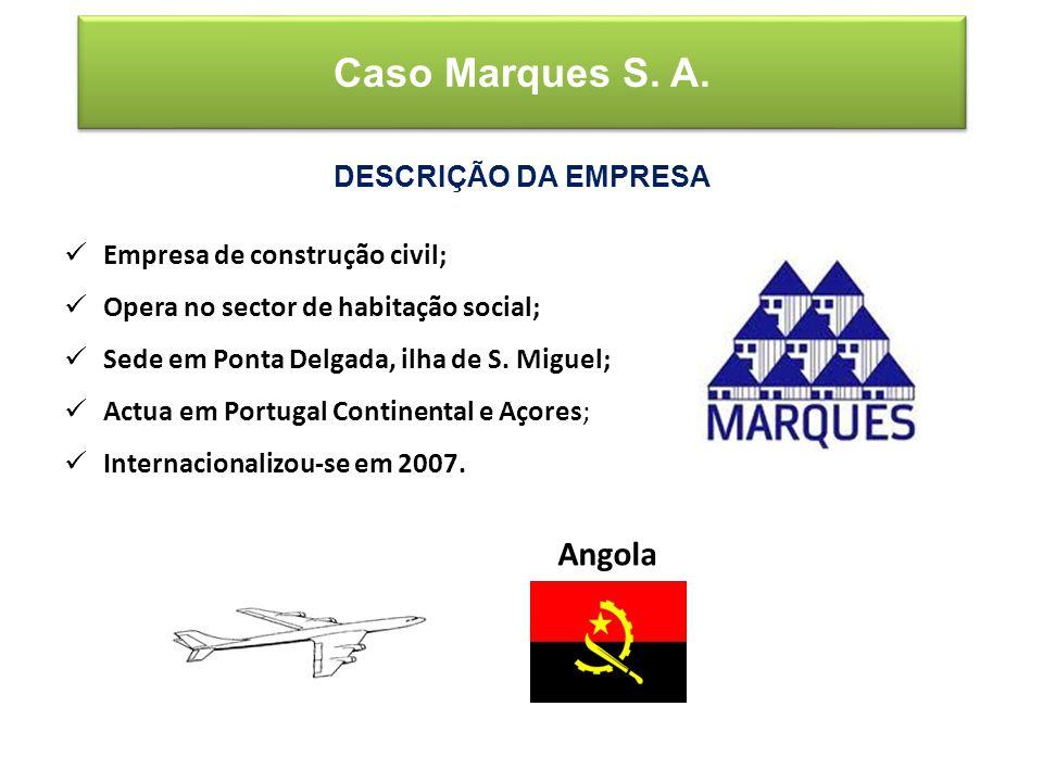Empresa de construção civil; Opera no sector de habitação social; Sede em Ponta Delgada, ilha de S.