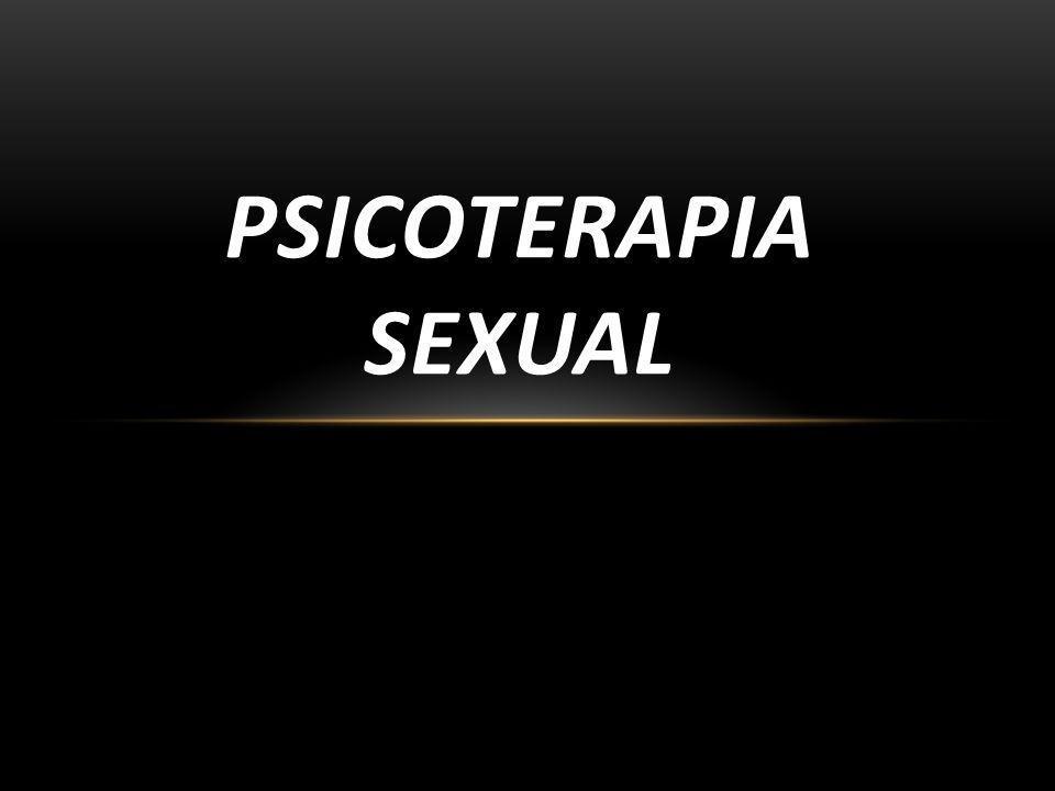 O QUE É A PSICOTERAPIA SEXUAL É uma atuação clínica específica para trabalhar as dificuldades sexuais.