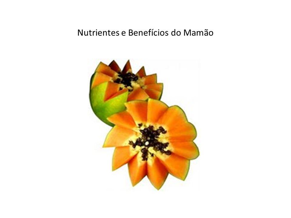 Nutrientes e Benefícios do Mamão