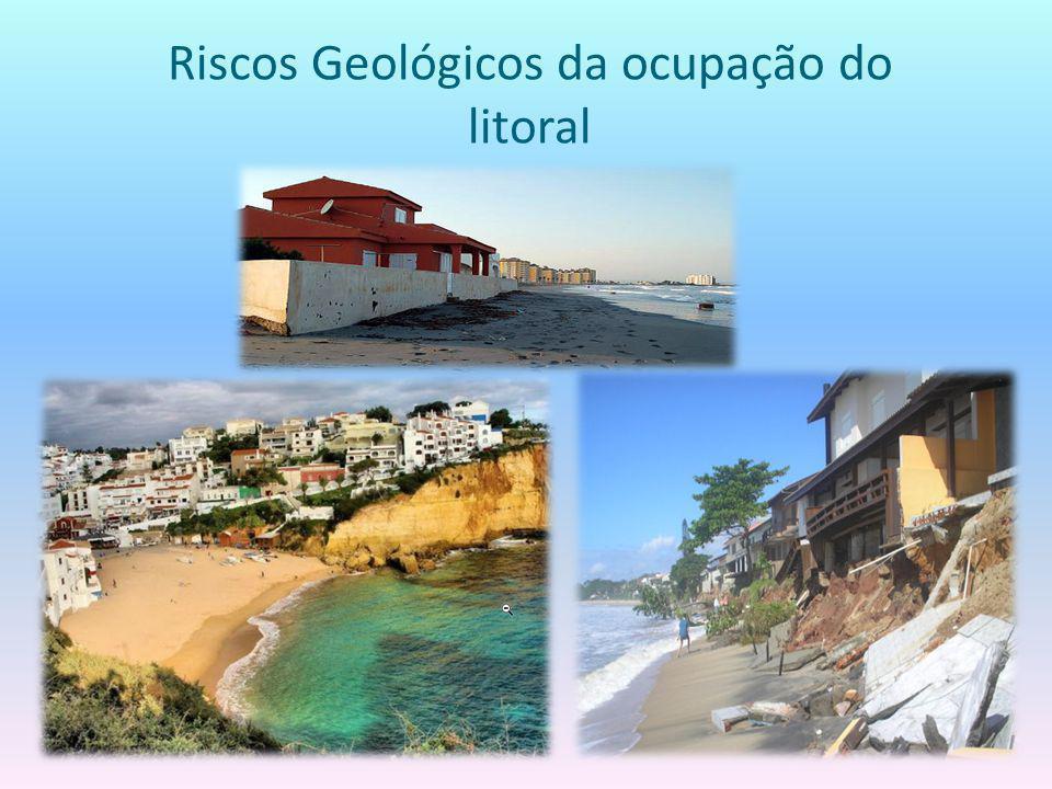 Riscos Geológicos da ocupação do litoral