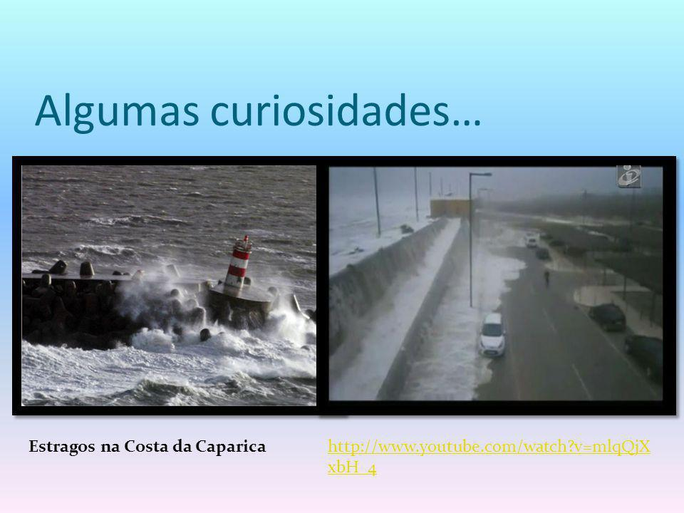 Algumas curiosidades… Estragos na Costa da Caparicahttp://www.youtube.com/watch?v=mlqQjX xbH_4