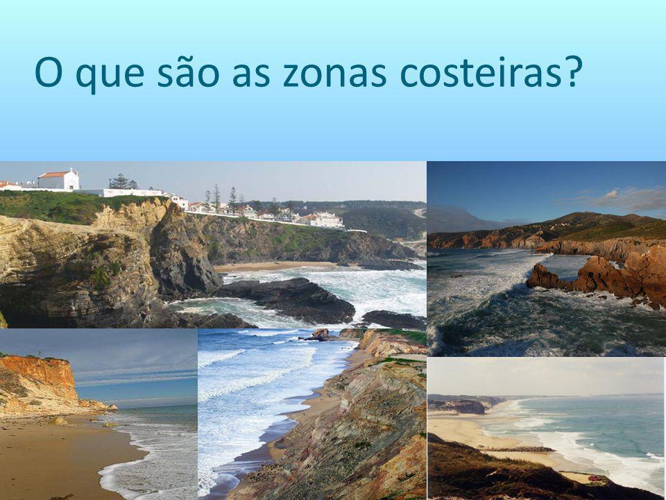O que são as zonas costeiras?
