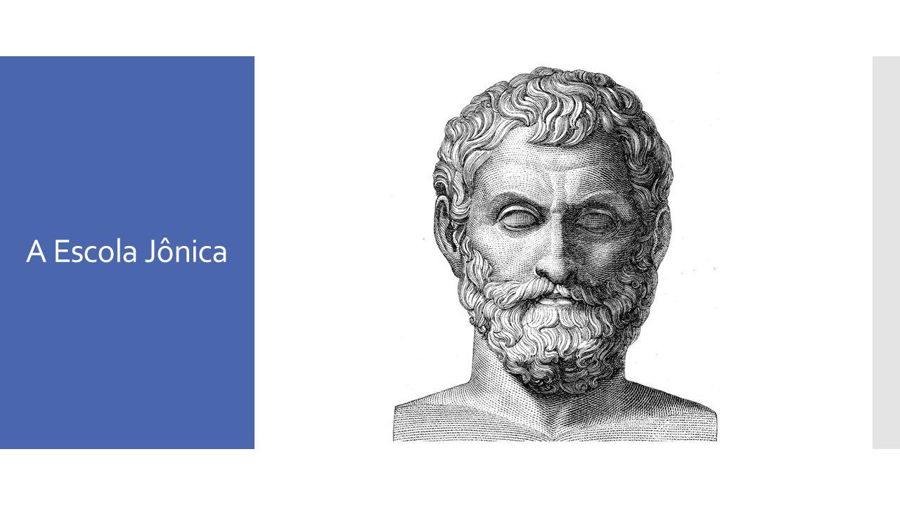 Atomistas O argumento de Demócrito segundo Aristóteles: 1.Suponha-se que se tenta dividir a matéria até ao infinito 2.Perguntamos: o que se segue se a divisão fosse efectuada.