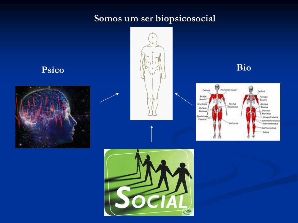 Somos um ser biopsicosocial Psico Bio