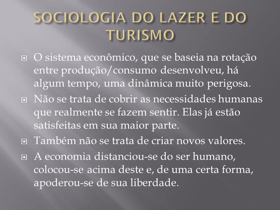O sistema econômico, que se baseia na rotação entre produção/consumo desenvolveu, há algum tempo, uma dinâmica muito perigosa. Não se trata de cobrir