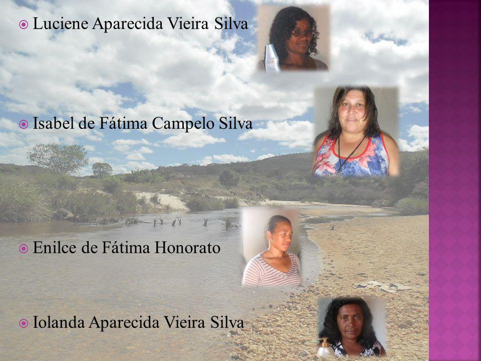 Luciene Aparecida Vieira Silva Isabel de Fátima Campelo Silva Enilce de Fátima Honorato Iolanda Aparecida Vieira Silva
