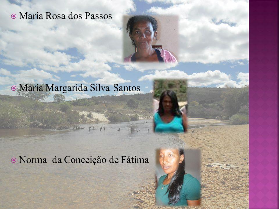 Maria Rosa dos Passos Maria Margarida Silva Santos Norma da Conceição de Fátima