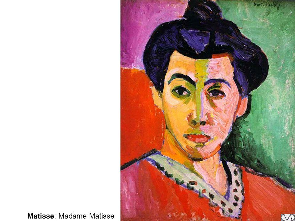 Matisse; Madame Matisse