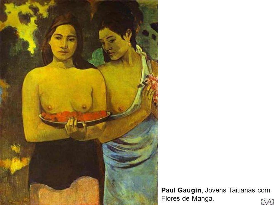 Paul Gaugin, Jovens Taitianas com Flores de Manga.
