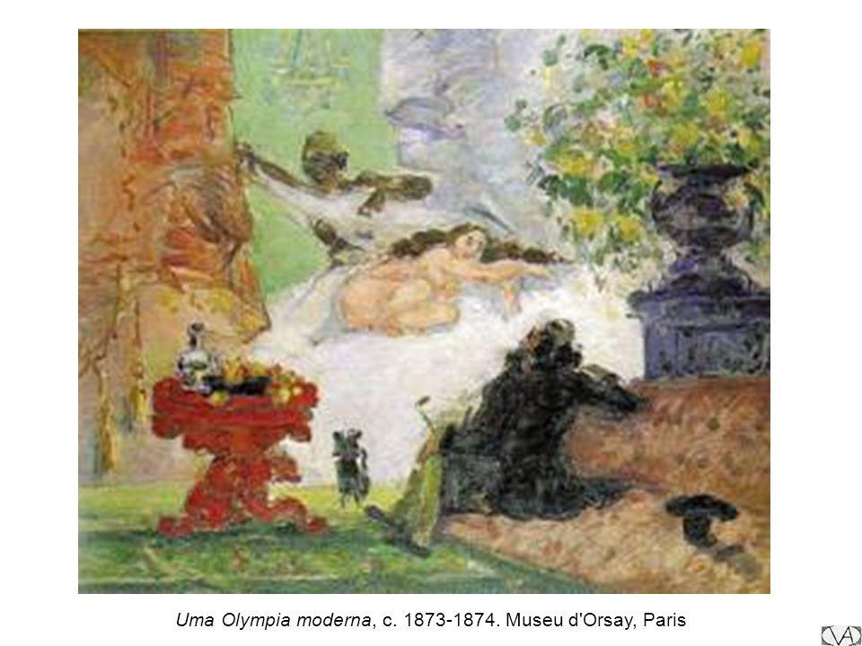 Uma Olympia moderna, c. 1873-1874. Museu d'Orsay, Paris