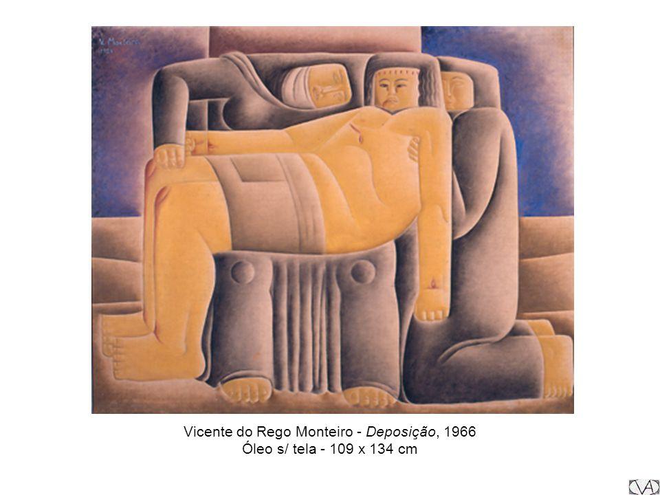 Vicente do Rego Monteiro - Deposição, 1966 Óleo s/ tela - 109 x 134 cm