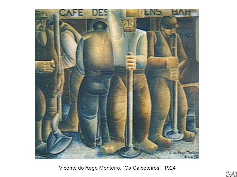 Vicente do Rego Monteiro, Os Calceteiros , 1924