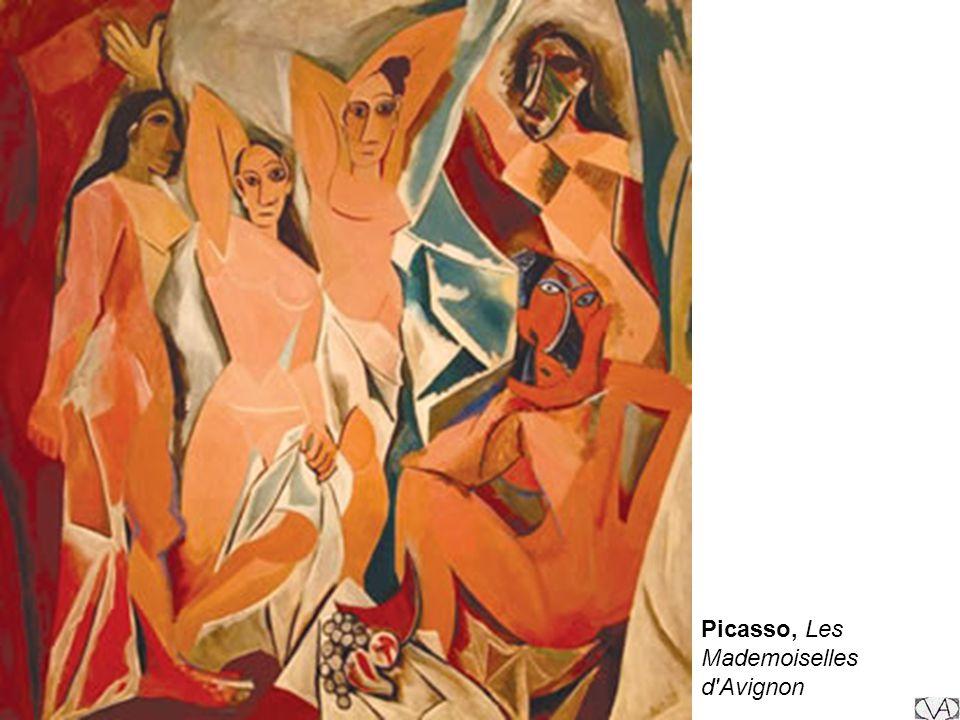 Picasso, Les Mademoiselles d'Avignon