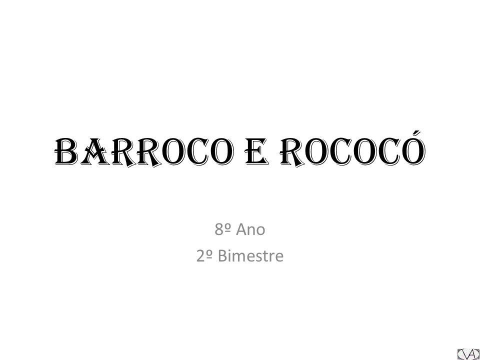 Barroco O barroco foi um período estilístico e filosófico da História da sociedade ocidental, ocorrido desde meados do século XVI até ao século XVIII.