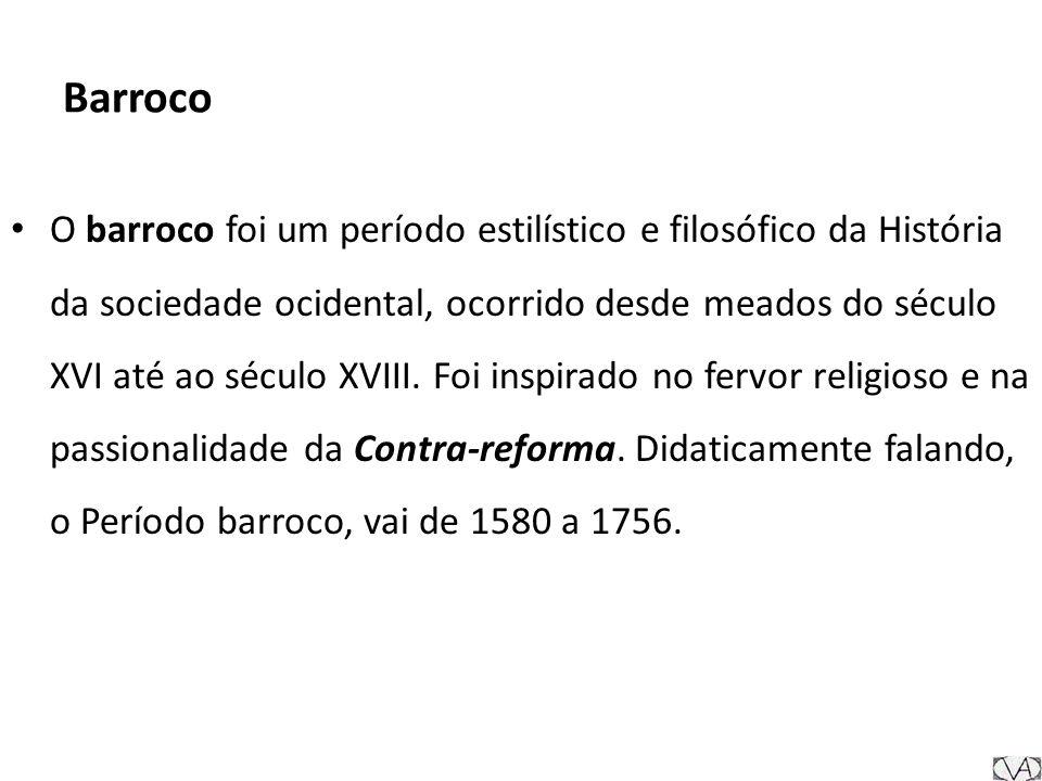 Barroco Barroco , uma palavra portuguesa que significava pérola irregular , passou bem mais tarde a ser utilizada como termo desfavorável para designar certas tendências da arte seiscentista.